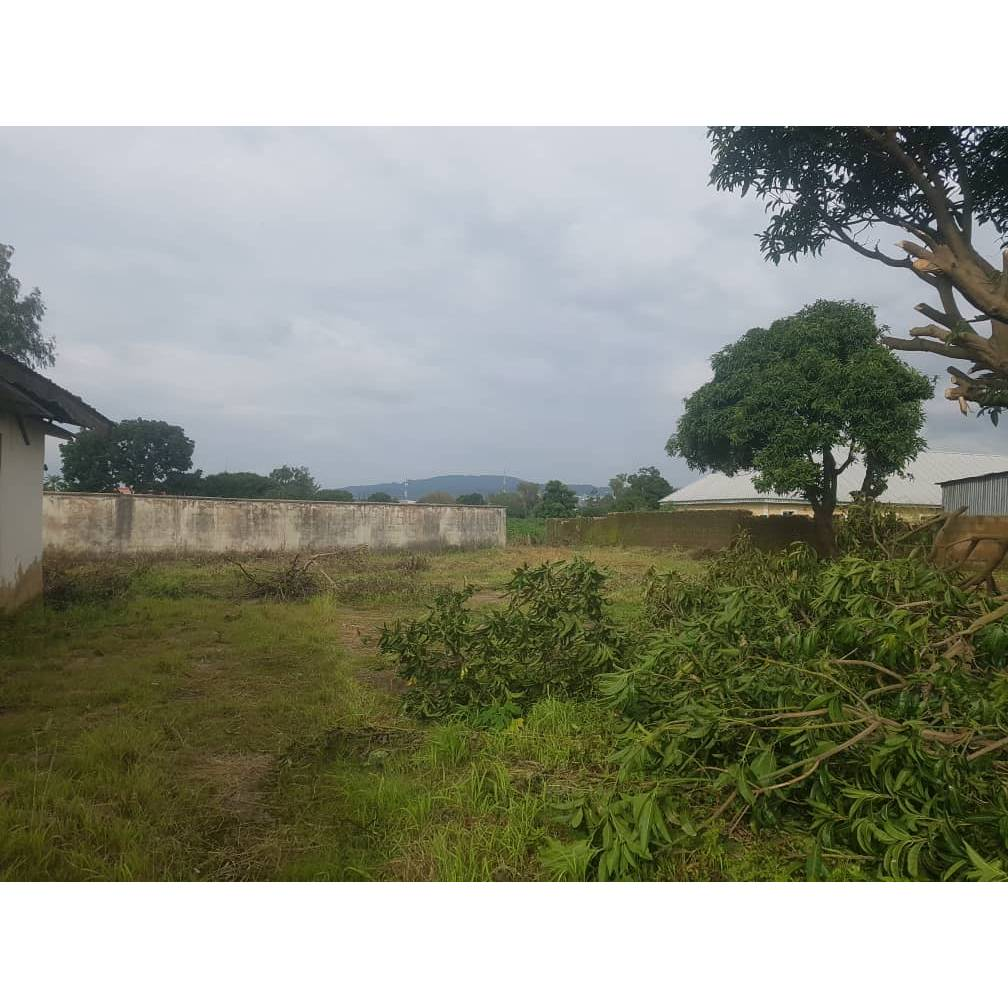 25plot of land fully fenced with German floor & covered by C of O 99